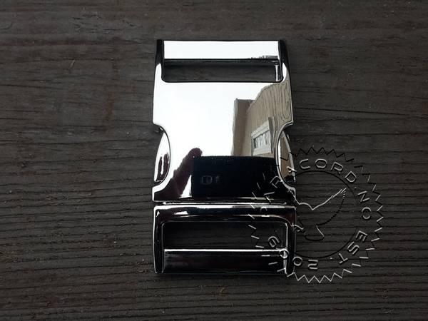 Metallspenne 19mm Chrome